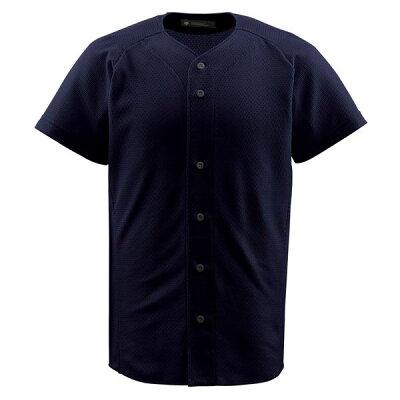 デサント DESCENTE フルオープンシャツ BLK JDB-1010