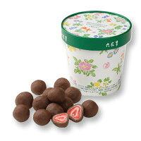 六花亭 ストロベリーチョコミルク 115g