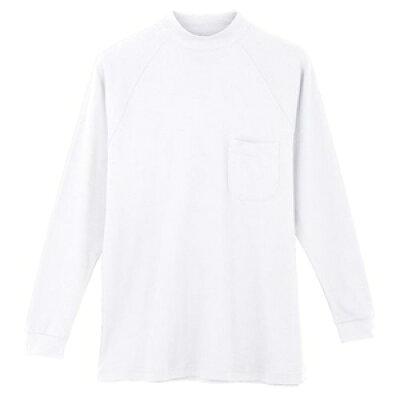 ハイネックシャツ 3018 ホワイト 4L
