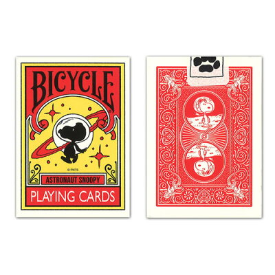 BICYCLE PLAYING CARDS ASTRONAUT SNOOPY トランプ メディコム・トイ