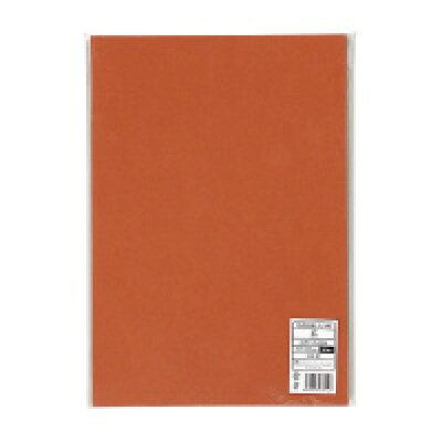 キングコーポレーション 色画用紙 八ツ切 50枚 茶 GK8106