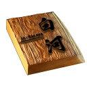 耳付き銘木表札 浮き彫り彫刻 高級銘木表札 一位 i30-180u-m
