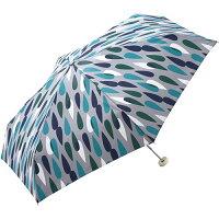 w.p.c (ワールドパーティ) 折りたたみ傘 手開き 日傘/晴雨兼用傘 レイン グレー 6本骨 50cm 軽量