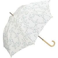 w.p.c 雨傘 マグノリア 長傘 手開き オフホワイト 58cm 4218-07(1本入)