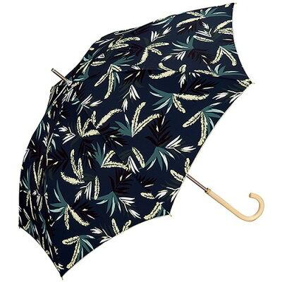 w.p.c 雨傘 ペールリーフ 長傘 手開き ネイビー 58cm 1498-08(1本入)