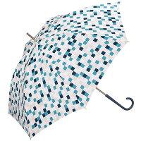 w.p.c 雨傘 キューブ 長傘 手開き グリーン 58cm 7038-08(1本入)
