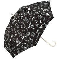 w.p.c 雨傘 ニューヨーク 長傘 手開き ブラック 58cm 2408-08(1本入)