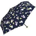 ワールドパーティー Wpc. 雨傘 折りたたみ傘 ネイビー 50cm レディース ポーチタイプ スイートピーミニ 3692 229 NV