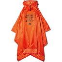 キウ kiu メンズ レディース レインポンチョ AIR-LIGHT RAIN PONCHO オレンジ K88-924