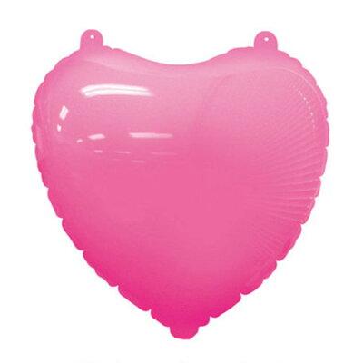 チャーミィパック49cm デコハート ピンク パーティーグッズ