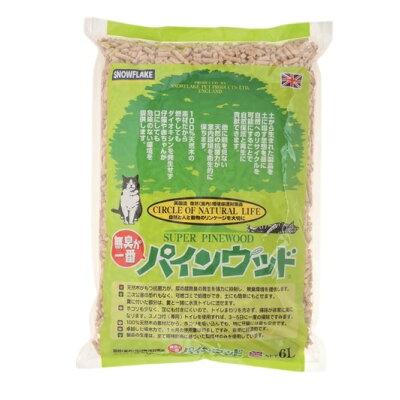 猫砂 パインウッド(6L)