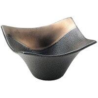 商品コード:RSU0901 奏 角小鉢 ゴールドブラック 11cm