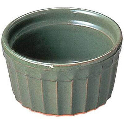 M.STYLE/ミヤザキ食器 ヴァルカーニャ スフレ 10cm VL-010 グリーン 陶器