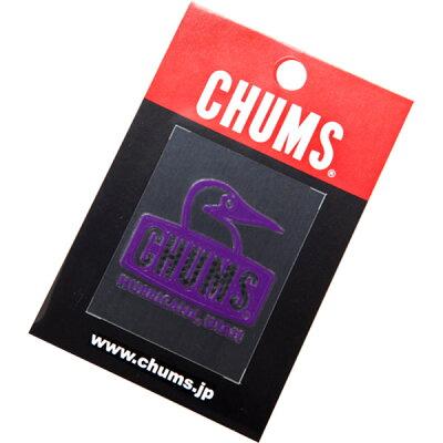 チャムス チャムス ブービーフェイス エンボスステッカー Booby Face Emboss Sticker CH62-0118