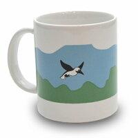 Pottery Mug Cap  Flying Booby