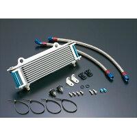 ACTIVE アクティブ オイルクーラー本体 ストレートオイルクーラーキット コアカラー:シルバー サーモ対応:× GPZ750 F 83-85
