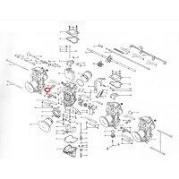 Mikuni ミクニ その他キャブレター関連 1.フロートチャンバーボディー #1 TMRキャブレター ビッグボディΦ36-Φ41 スモールボディΦ28-Φ35