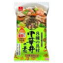 アスザックフーズ 旬菜まんま亭 8種の具材 中華丼の素 15g