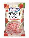 アスザックフーズ 牛乳でつくる 飲むデザート ザク切りいちご 8g