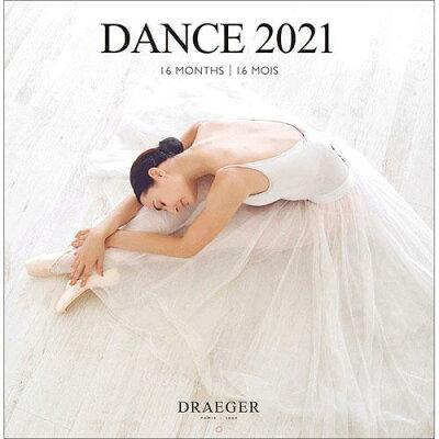 ドレジャー ラージカレンダー DANCE 2021 21LC-002 壁掛けタイプ