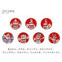 ジャスティス ラグビー 日本代表 2019 バラエティグッズ キン肉マン×日本代表 キン肉マンコラボ 缶バッジ 54mm/ウルフマン 4001860285