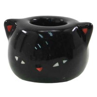 スモーキングカット 黒猫 面白 喫煙具 灰皿