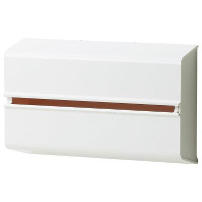 ideaco イデアコキッチンペーパーホルダー ホワイト 幅25.5x高さ15.6 6.5 対応サイズ:幅23x高さ12x奥行4.5cm WALL PTウォール ピーティ