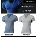ZEROFIT/ゼロフィット ORO オーロ ショートスリーブ Vネックシャツ Mサイズ スモークブルー
