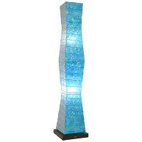 手染め和紙 フロアスタンド B-150-LD tree ラグーン×小倉流紙 (ブルー)