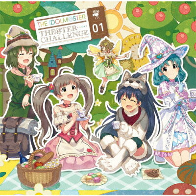 THE IDOLM@STER THE@TER CHALLENGE 01/CDシングル(12cm)/LACM-14947