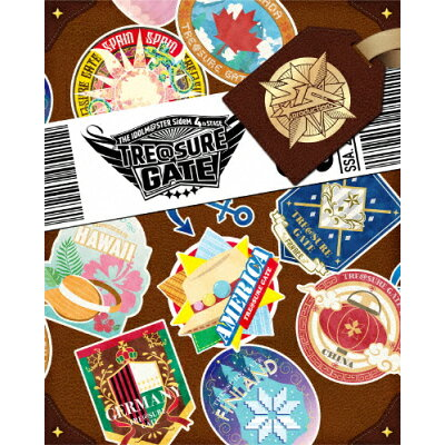 THE IDOLM@STER SideM 4th STAGE ~TRE@SURE GATE~ LIVE Blu-ray【Complete Box(初回生産限定版)】/Blu-ray Disc/LABX-38395