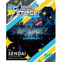 THE IDOLM@STER SideM 3rdLIVE TOUR ~GLORIOUS ST@GE!~ LIVE Blu-ray Side SENDAI/Blu-ray Disc/LABX-8317