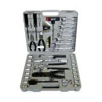 メカニックキット60PCS MK-60 カーメンテナンスやホームメンテナンスなどに!いろんな作業に対応した工具セット