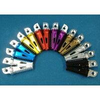 JPモトマート デュラボルト フットペグ・ステップ・フロアボード SPタンデムステップペグ カラー:メタルグレー