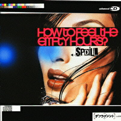 How to feel the empty hours?/CD/DDCZ-1071