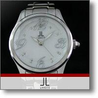 LANCETTI LT-6203S-WH レディース /腕時計 #103619-00-01