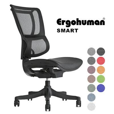 エルゴヒューマン エンジョイ ローバック Ergohuman ENJOY EJ-HAMハイブリット 新型 オフィスチェアー OAチェアー デスクチェアー