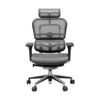 (エルゴヒューマン)エルゴヒューマンチェア グレー EH-HAM-HB KM-10