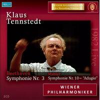 Beethoven ベートーヴェン / ベートーヴェン交響曲第3番 英雄 、マーラー交響曲第10番アダージョ テンシュテット&ウィーン・フィル 1982 ステレオ 2CD 輸入盤