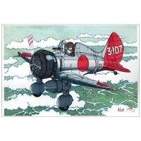 デカールセット No.38 1/144 九六艦戦 第12航空隊 3-107 坂井三郎搭乗機 プラモデル SWEET