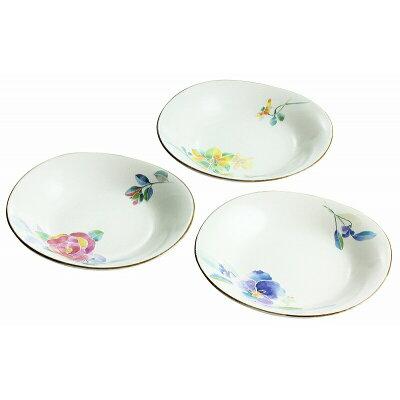 和藍 花ことば 三つ組多用皿&藍