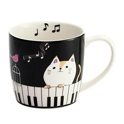 にゃんたマグカップ ピアノ
