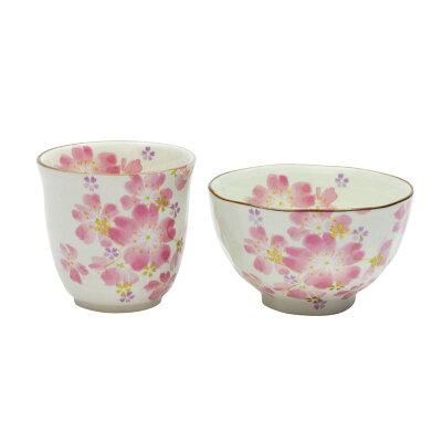 華まつり 飯碗湯呑 桜