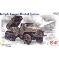 1/72 露・BM-21グラッド 多連装ロケットランチャー ICM バウマン IC72714