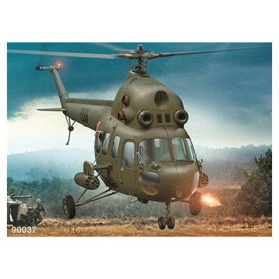 ポーランド・アエロプロスト プラモデル 1/48 ミルMi-2ヘリコプター攻撃型タイプ バウマン