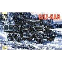 1/72 ソ連GAZ-AAA6輪トラック プラモデル ミリタリーホイール
