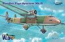 1/72 英・ハンドレページ・スパローMk.II双発輸送機 バロム バウマン CV72058 ハンドレページ スパローMk.II