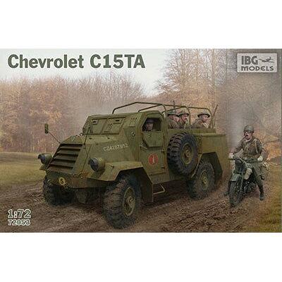 1/72 加・シボレーC15TA装甲4輪トラック IBG バウマン.PB72053 カナダ シボレー C15TA トラック