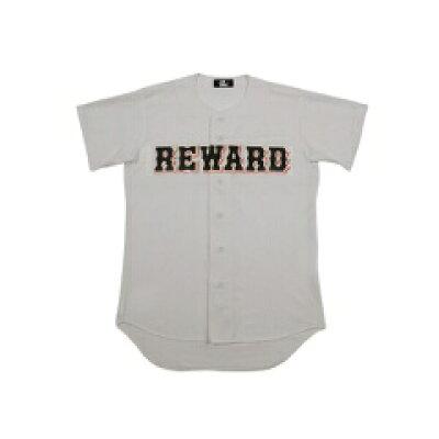 フロントオープンメッシュシャツ 野球ユニフォームシャツ カラー:グレー サイズ:M #HS-10