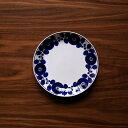 (白山陶器) (波佐見焼) (ブルーム(リース)) (プレートM) (19.5cm)
